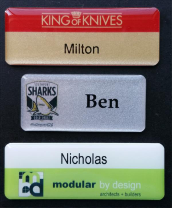 design you own custom name badges lanyards id tags australia